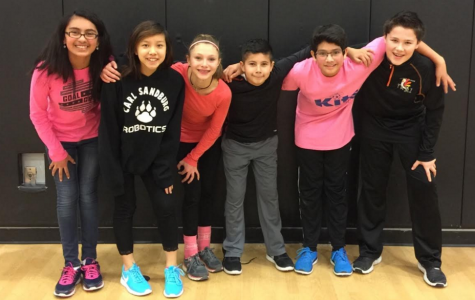 6th Grade Students Excited for Volleyball Tournament