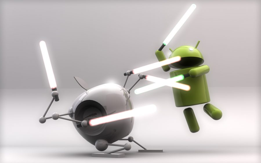 Apple+vs.+Android