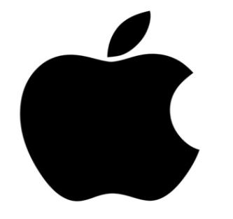 Old apple logo