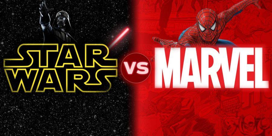 Star wars vs Marvel
