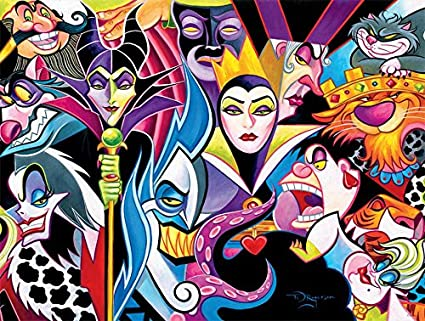 Ceaco Disney Villains Jigsaw Puzzle, 1500 Pieces