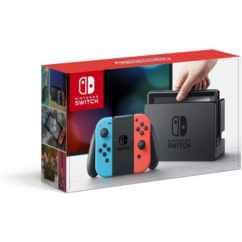 Switch is a handheld console that can be play on tv mode or play on the go