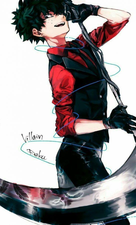 Midoriya as a villain makes more sense than him as a hero