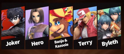 These showcase what DLC Fighters they have for Pack 1.