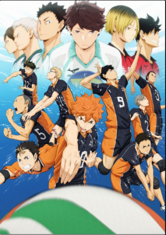Promotional poster for Haikyuu!