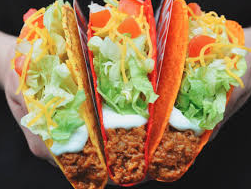 Cheapest tacos to get at Taco Bell for below $20
