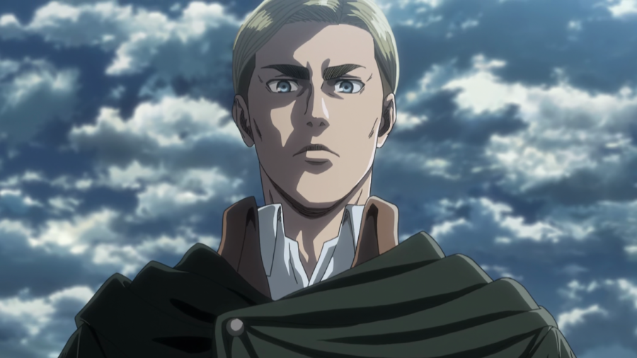 Erwin Smith, commander of the scouts.  Picture from https://www.reddit.com/r/ErwinSmith/comments/d58jm6/our_awesome_commander_won_the_latest_official/